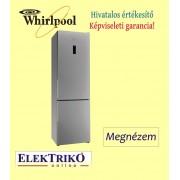 Whirlpool WNF8T20X alulfagyasztós hűtőszekrény , A++ energiaosztály , NoFrost