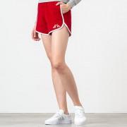 MAISON KITSUNÉ Terry Cloth Sport Shorts Red