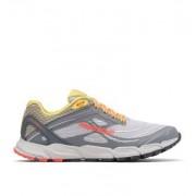 Columbia Chaussures De Trail Running Caldorado III - Femme Gris, Corange 37.5 EU