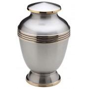 Grote Messing Urn Zilver - Sierranden (3.6 liter)