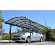 Carport en aluminium Delage (290x499x240cm)