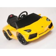 Swagspin Licensed Lamborghini Aventador Lp-700 Ride On Remote Control Car For Kids (Yellow)