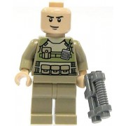 Lego Super Heroes Colonel Hardy Minifigure