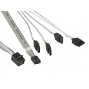 Supermicro Int. Cross-Over mSAS HD to 4 SATA w/SB 55/55/55/55/55cm Cable CBL-SAST-0631