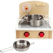 Hape Playfully Delicious Tabletop Cook and Grill, Ivory