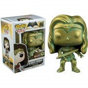 Funko Pop Wonder Woman Bronze Patina Exclusivo Supanova 2016-Multicolor