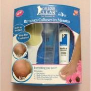 Kit pentru ingrijirea calcaielor Callous Clear