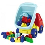 Ecoiffier Maxi Abrick Truck W/ 30 Bricks (41 X 23 X 29 cm), Multi Color