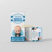Invitaţie botez Boss Baby