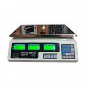 Cantar Electronic 40 kg cu Acumulator si Platan Inox Incarcare Priza