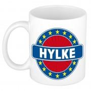 Bellatio Decorations Voornaam Hylke koffie/thee mok of beker - Naam mokken