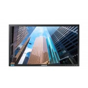 "Samsung Business Monitor 24"" Samsung Ls24e65kbwv / S24e650bw Led Full Hd Ergonomico Varie Regolazioni Nero Refurbished Senza Base"