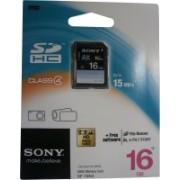 Sony 16 GB SDHC Class 4 Memory Card