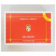 DAL NEGRO Carte Da Gioco Ramino 2 Mazzi - St.Moritz Extra Plastificate