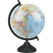 Globe - EnticeSelections No.1 Educational Hand Made Globe - World Globe 8 inch - Perfect Globes for Students and Kids - Large Size Political Globe - Decorative Gift item for Home and Office - Gifts for boss- Travel Gifts -Map of the world