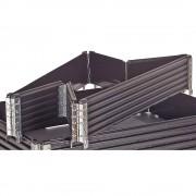 Kunststoffaufsatzrahmen, VE 2 Stk für Euro-Palette 1200 x 800 mm klappbar, mit 6 Scharnieren, ab 5 VE