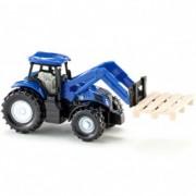 SIKU dečija igračka traktor sa viljuškom za prenos paleta 1487