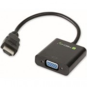 Techly Cavo Convertitore Adattatore da HDMI a VGA con Audio
