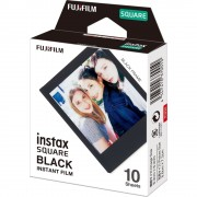 Fujifilm Instax Square Film Instant 10 Bucati Rama Neagra