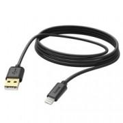 Кабел Hama 173787, от USB A(м) към Lightning(м), 3m, Черен
