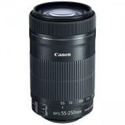 Обектив Canon LENS EF-S 55-250mm f/4-5.6 IS STM, Черен, AC8546B005AA