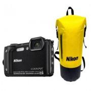 Nikon Aparat Coolpix W300 Czarny zestaw Holiday (wodoszczelny plecak)