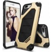 Husa Ringke iPhone 7 Plus ARMOR MAX ROYAL GOLD + Folie Ringke Invisible Defender Screen Protector