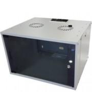 Комуникационен шкаф MIRSAN MR.WTC07U45.02 ComboBox, 540 x 350 x 450 мм, D=450 мм / 7U, бял, за стена