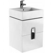 Baza lavoar cu doua sertare Kolo Twins, 50 x 46 x H57 cm -89489000