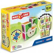 Set constructie magnetic Geomag Magicube Fructe