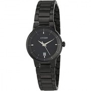 Citizen Quartz Black Dial Women Watch-EU6017-54E