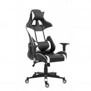 Fotel biurowy Racer Pro czarno-biały