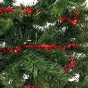 Xenos Guirlande sterren - rood- 500 cm