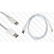 Apple iPhone 5/ iPhone 6/ iPhone 6 Plus/ iPad mini/iPod Touch 5/ Touch 6/ iPod nano 7 кабел 8 pin към Usb Type - C