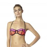 Fox Capture Balconet Bikiniöverdel Fluo Orange