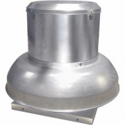 Canarm Belt Drive Downblast Spun Aluminum Exhauster - 15 Inch, 1 HP, 3-Phase, Model ALX150DBT30100M