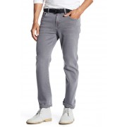 7 For All Mankind Slimmy Straight Leg Jean SHADED STO