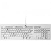 HP Tastiera sottile HP USB Business (grigio) - Layout QUERTY Italiano