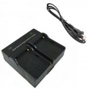 F550 Camara digital cargador doble de bateria para Sony NP-F550 330 530 570
