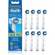Oral B Precision Clean EB 20 cabeças de reposição para escova de dentes 8 pçs