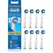 Oral B Precision Clean EB 20 capete de schimb pentru periuta de dinti 8 buc