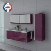 Distribain Meubles salle de bain DIS025-1500AU Aubergine