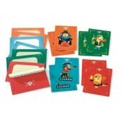 DJECO Cartes d'invitation des pirates