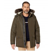 Nautica Parka w Sherpa Lined and Faux Fur Hood Hillside Olive