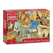 Puzzle vederi din Europa Melissa and Doug, 1000 piese