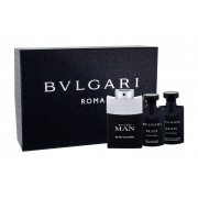 Bvlgari Man Black Cologne 60Ml Edt 60 Ml + Aftershave Balm 40 Ml + Shower Gel 40 Ml Per Uomo(Eau De Toilette)