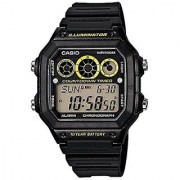 Casio Youth Grey Dial Mens Watch - AE-1300WH-1AVDF (D106)