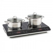Klarstein VariCook Slim Plaque de cuisson double à induction tactile à minuterie 3500 W 240°