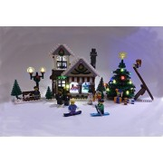 Winter Village Toy Shop (2015) Lighting Kit for Lego 10249 Set (LEGO set Not Included) by Brick Loot