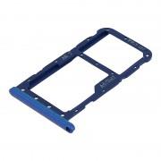Avizar Bandeja de Substituição para Cartão Nano SIM Azul para Huawei P20 Lite
